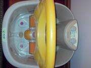 для дома  Ванночки фито  массажныие электричес с градусником